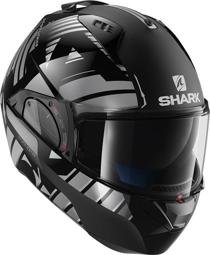 kask szcz kowy shark evo one 2 lithion czarno szary szary czarny dla motocyklisty kaski. Black Bedroom Furniture Sets. Home Design Ideas