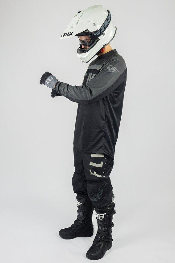 Spodnie crossenduro FLY RACING F 16 czarny