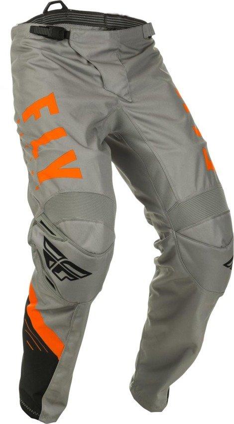 Spodnie crossenduro FLY RACING F 16 szaro pomarańczowe