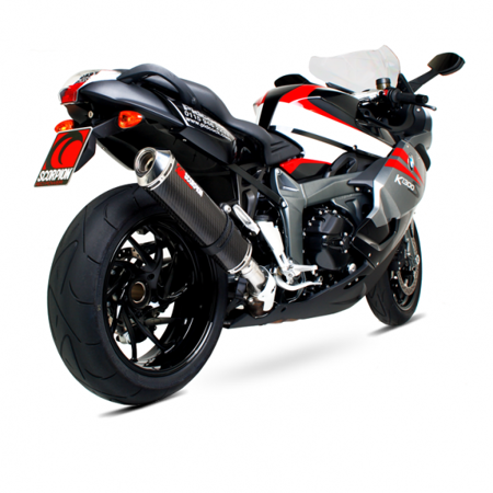 K1300 R/S 09/13 FACTORY OVAL CARBON/STAL EBM67CEO