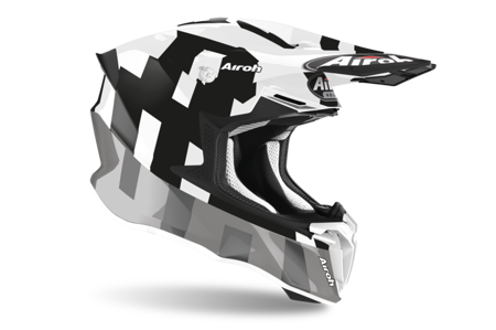 Kask AIROH TWIST 2.0 FRAME GREY GLOSS