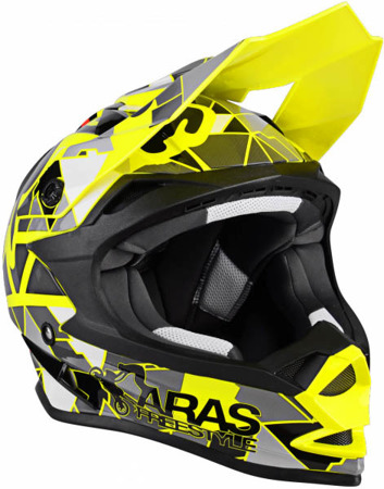 Kask crossowy LAZER OR1 Aras Freestyle Replica żółty