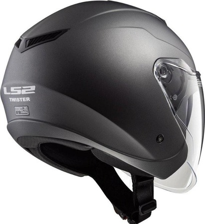 Kask otwarty LS2 OF573 TWISTER SOLID titanium