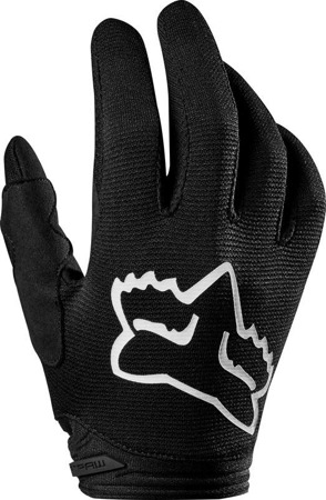 RĘKAWICE FOX JUNIOR DIRTPAW PRIX BLACK
