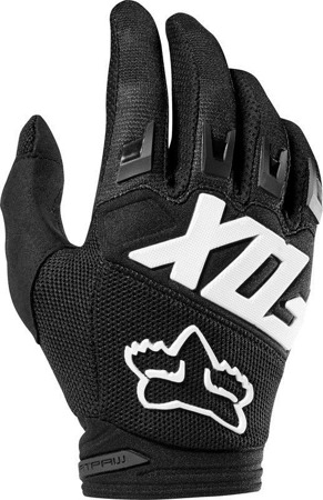 RĘKAWICE FOX JUNIOR DIRTPAW RACE BLACK