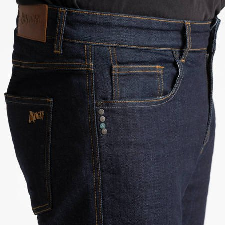 Spodnie jeans BROGER CALIFORNIA RAW - navy