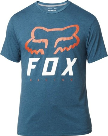 T-SHIRT FOX HERITAGE FORGER TECH HEATHER MAUI BLUE
