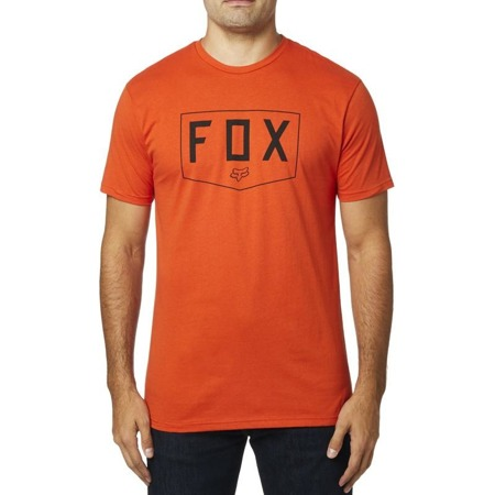 T-SHIRT FOX SHIELD PREMIUM ATOMIC ORANGE