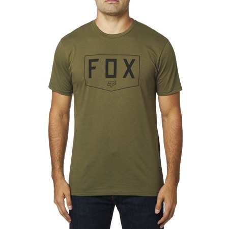 T-SHIRT FOX SHIELD PREMIUM OLIVE GREEN