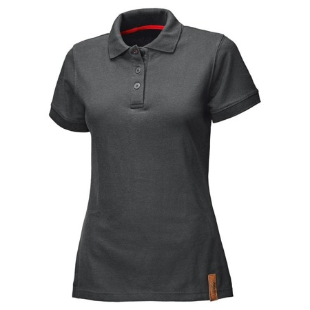 T-SHIRT HELD LADY POLO BIKERS BLACK