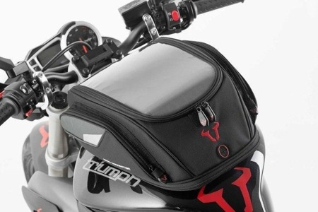 TANK BAG EVO SPORT 2.0 ELECTRIC 12V BLACK/GREY 14-21 LL SW-MOTECH